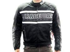 Modeka Giacca Motociclista MESH RACE 84 Taglia M Tessuto Cosa repellente acqua