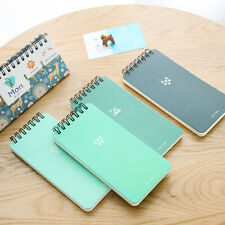 Portable Cartoon Student Paper Note Book Memo Diary Notebook Exercise Books New.