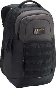 Under Armour Guardian Backpack Black Water Resistant Laptop Sleeve 31L Storage