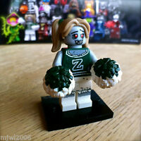 LEGO 71010 MONSTERS ZOMBIE CHEERLEADER #8 Series 14 SEALED Minifigures minifig