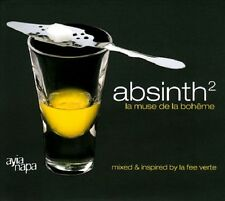 Absinth Vol.2    2CDs Wax Poetic Mystic Diversions