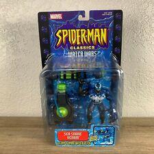 Spiderman Classics Water Wars Sea Snake Venom Figure with Water Blaster Toy Biz