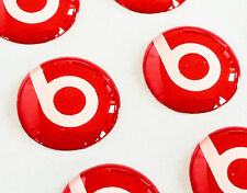 BEATS AUDIO 3D domed sticker badge 11mm size (Set of 2)