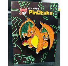 PINOTAKU CHARIZARD ORIGINAL POKEMON ANIME EXCLUSIVE CUSTOM ARTIST GLITTER PIN