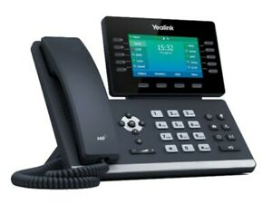 Yealink T54W WiFi VoIP/SIP Phone, 10-Lines, 2xGigabit Ports, PoE, Colour Screen