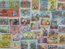 DISNEY THEMED STAMPS OFF PAPER   X 25  -  GOOD MIX   -  ALL DIFFERENT
