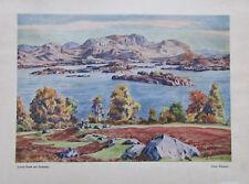 Peperle: Lutsi-Vann bei Sandnes, Norwegen Kunstblatt Reproduktion art print