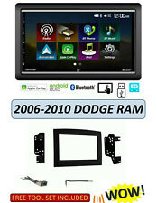 2006-2010 DODGE RAM TOUCHSCREEN Apple CarPlay Android Auto STEREO KIT