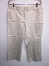 NEW Calvin Klein Woman 14W Stone Modern Essentials Stretch Pant Trouser NWT