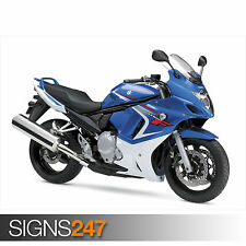 SUZUKI GSX 650F MOTOR (1700) Motorbike Poster - Poster Print Art A0 A1 A2 A3 A4