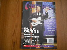 COUNTRY MUSIC PEOPLE - MAGAZINE - DECEMBER 1996 - BUCK OWENS, CHARLEY PRIDE