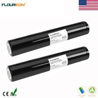 2x Floureon 3000mAh 3.6V NiMH Battery for Streamlight 75375 Stinger 75175 75375