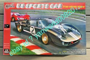 TRUMPETER / MAGNIFIER 00019 1/12 GT 40 MK.II RACING CAR 24 HOUR LE-MANS
