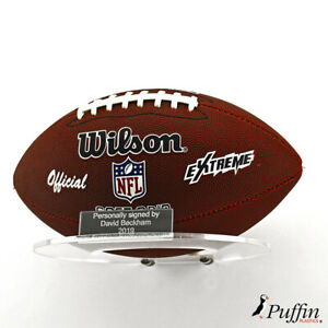 American Football Landscape Wall Holder (With Free Inscription Plaque)