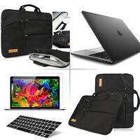 "[4-IN-1]Black Laptop Sleeve Bag w/Shockproof Case F Macbook Pro Air Retina 13""15"