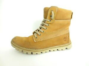 Timberland Women's Brookton 6 Inch Boots Brown Size US 8 EUR 39 [A12]