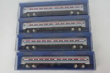 Bachmann N Scale Amtrak Budd Amfleet 4 Car Lighted Passenger Set In The Boxes