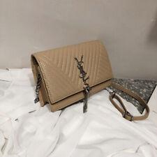 Fashion Women Tassel Handbag Shoulder Bag Lady Leather Crossbody Casual Tote Bag