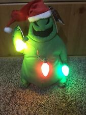 Nightmare Before Christmas Oogie Boogie Animated Plush with Lights & Music