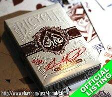 Bicycle Legacy from 1 of 36 Signed & Numbered RED Playing Cards