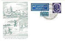 Gestempelte Briefmarken-Ganzsachenaus der BRD aus Bundesrepublik