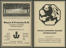 Wayss & Freytag Spannbeton Frankfurt Bauwesen Hamburg Halle IGA Gartenbau 1954