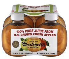 Martinelli's Gold Medal 100% Apple Juice 10 Fl. oz Tiktok Apple Juice! 1 Bottle