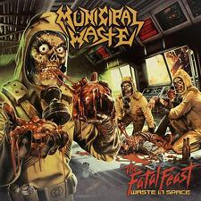 Municipal Waste - The Fatal Feast LP COLORED VINYL YELLOW RED Splatter 300