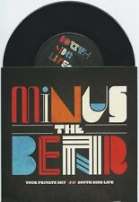 "Minus the Bear ""Your Private Sky"" 7"" OOP Botch Kill Sadie RSD /1000"
