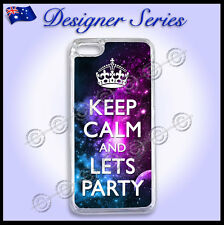 Designer iPhone 5C case cover Galaxy Art Collection Keep Calm Lets Party 48