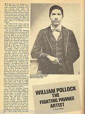 William Pollack - Pawnee Scout, Rough Rider, Artist