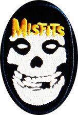 Misfits patch (oval) iron on/sew on cloth patch (tg)