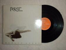 "LP ROSE ""Worlds apart"" MILLENNIUM RECORDS XL 17749 µ"