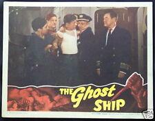 THE GHOST SHIP 1943 Val Lewton Horror Film Richard Dix ORIGINAL MOVIE LOBBY CARD