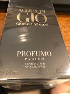 Acqua Di GIO  Profumo Parfum Spray 4.2 floz For Men New In Box