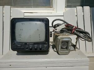 Vtg Sony SSM-620AM Original RV Backup Camera Monitor 1989 Fleetwood Pace Arrow
