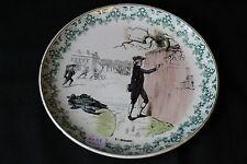 Assiette en faience Creil et Montereau terre de fer N°1 Brienne CH.HAMLEL