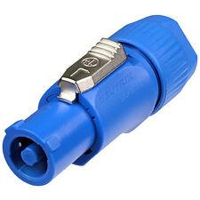 Neutrik NAC3FCA Powercon Cable Connector Power In Blue