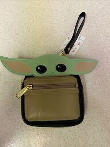 Disney Star Wars Baby Yoda The Child Loungefly Wristlet