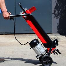 XtremepowerUS 7Ton Electric Log Splitter Wood Cutter w/ Mobile Hydraulic Wheels