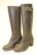Hunter Womens Size 8.5 38.5 May Tall Zip Cap Toe Heels Riding Boots 0040