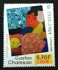 SELLOS FRANCIA 2000 3350 GASTON CHAISSAC PINTURA 1v.