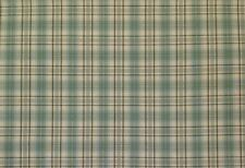 "WAVERLY PLAID TARTAN SAGE GREEN BROWN CREAM MULTIUSE FABRIC BY THE YARD 55""W"