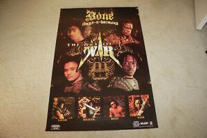 "Bone Thugs N Harmony 1997 The Art of War Original Promo Poster 24""x36"" - R1216"