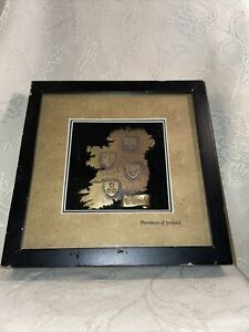 CELTIC SHADOWS The Provinces Of Ireland Shadow Box Of 'Green Isle'