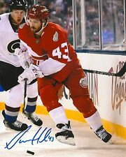 DARREN HELM signed DETROIT RED WINGS 8X10 STADIUM SERIES PHOTO COA