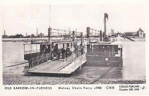 Pamlin repro Photo Postcard C1818 Walney Chain Ferry Barrow in Furness c1900