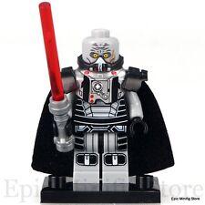 Custom Lord Sith Darth Malgus STAR WARS LEGO MINIFIG si adatta con xh393 Venditore Regno Unito
