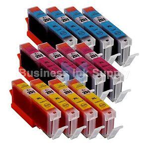 12 COLOR CLI-251XL Ink Tank for Canon Printer Pixma MX722 MX922 MG5420 CLI-251