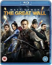 The Great Wall (Blue ray,2016) Starring Matt Damon